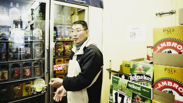 Le père, Bing Lu. Crédit photo : Dominique Lafond. ONF
