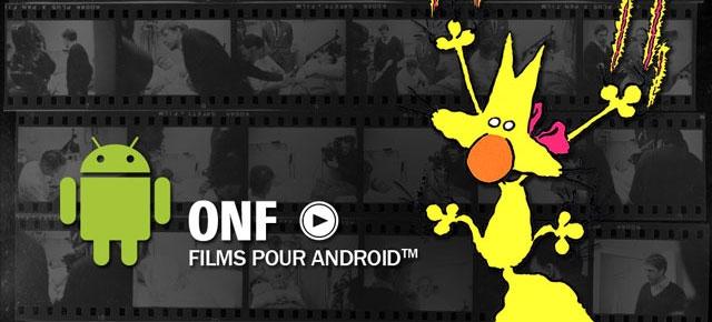 L'application Android de l'ONF est lancée!