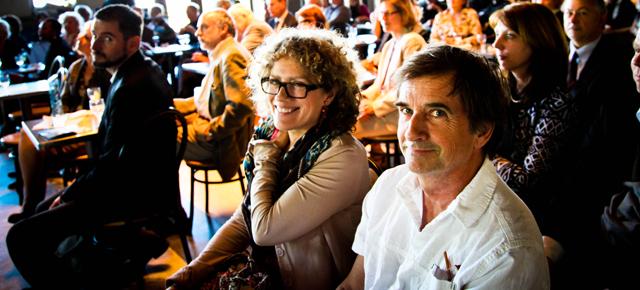 Les auteurs de Sacrée montagne reçoivent le prix du Mont-Royal