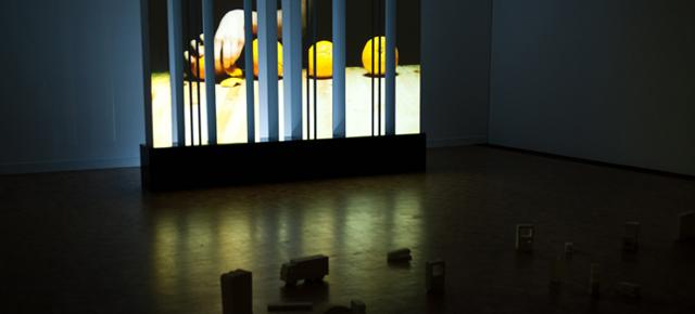 L'installation CODEBARRE expliquée par son concepteur Hugues Bruyère