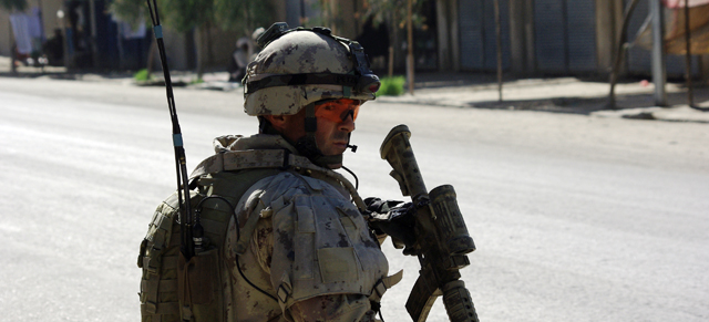 <em><strong>Le 22e Régiment en Afghanistan</strong></em> en première mondiale sur ONF.ca