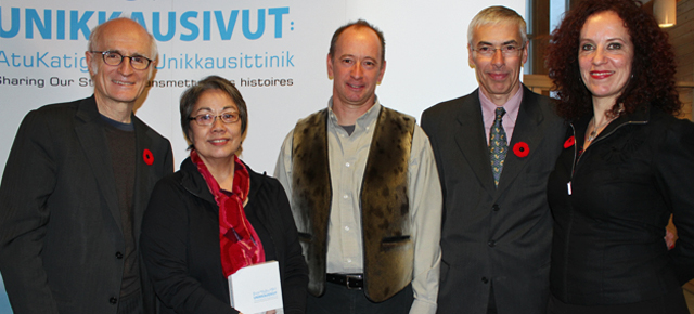 Lancement d'Unikkausivut : Transmettre nos histoires à Iqaluit, au Nunavut