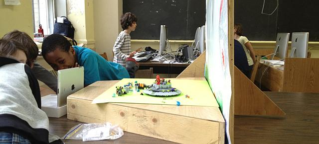 L'enseignement des arts plastiques, l'iPad 2 et l'application PixStop