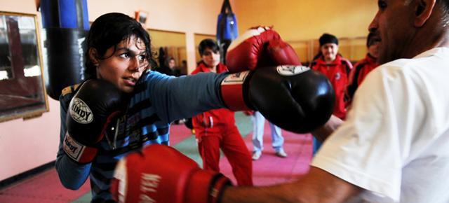 Les boxeuses de Kaboul au Cinéma ONF
