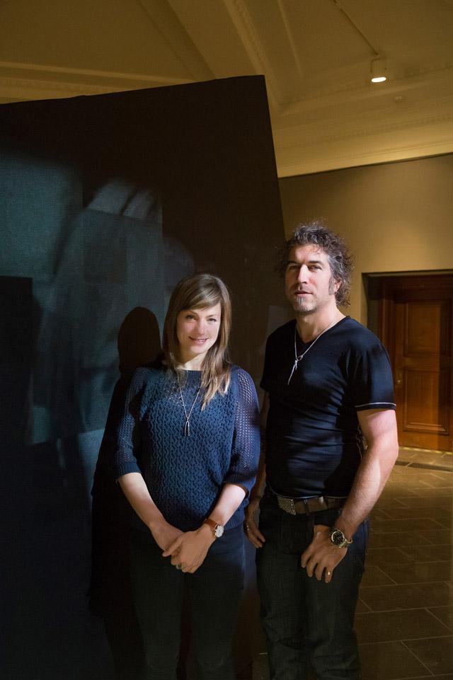 Judith Portier et Hugues Sweeney