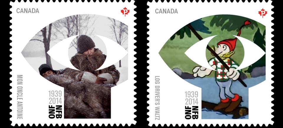 5 films, 5 timbres : Postes Canada célèbre l'ONF