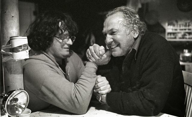 Bert et Pierre Perrault