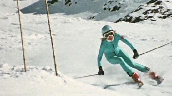 skieuse