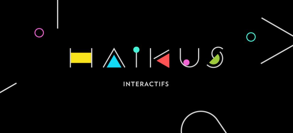 Haïkus interactifs | Explorez 4 oeuvres interactives en 4 minutes