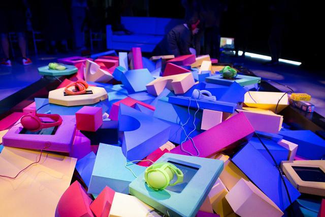 L'installation Haïkus interactifs, présentée au Tribeca Film Festival 2015
