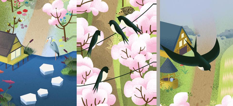 Découvrez les 4 derniers haïkus interactifs de la série présentés par leurs créateurs