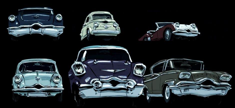 Claude Cloutier vous souhaite de joyeuses Fêtes avec 5 gifs animés inspirés de son film Autos portraits