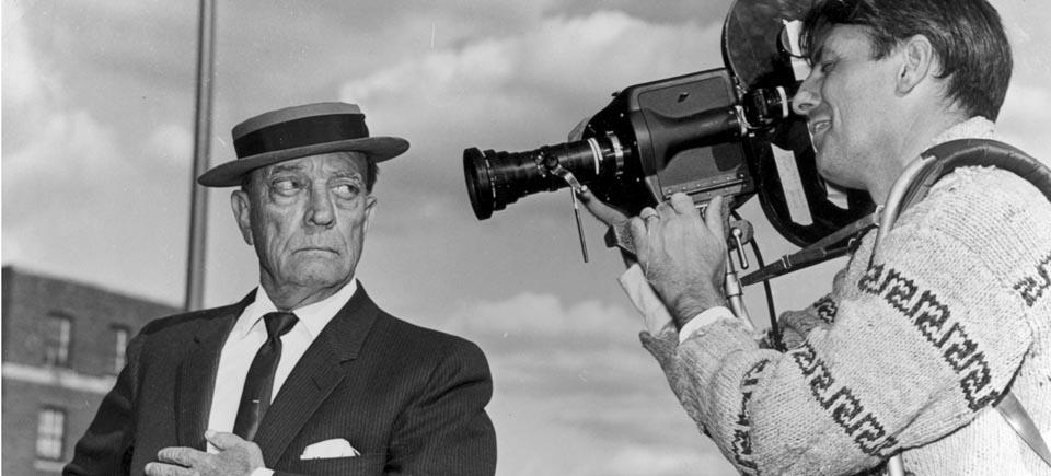 Hommage au génie de la comédie Buster Keaton