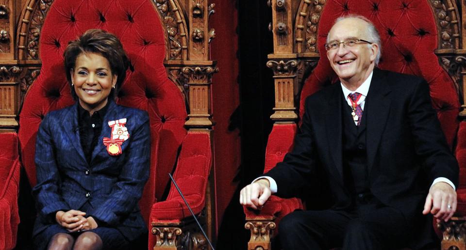 Michaëlle Jean et Jean-Daniel Lafond