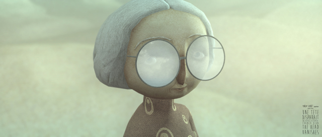 Jacqueline, le personnage principal d'une tête disparait