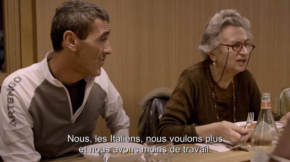 TOL - Vieille madame raciste