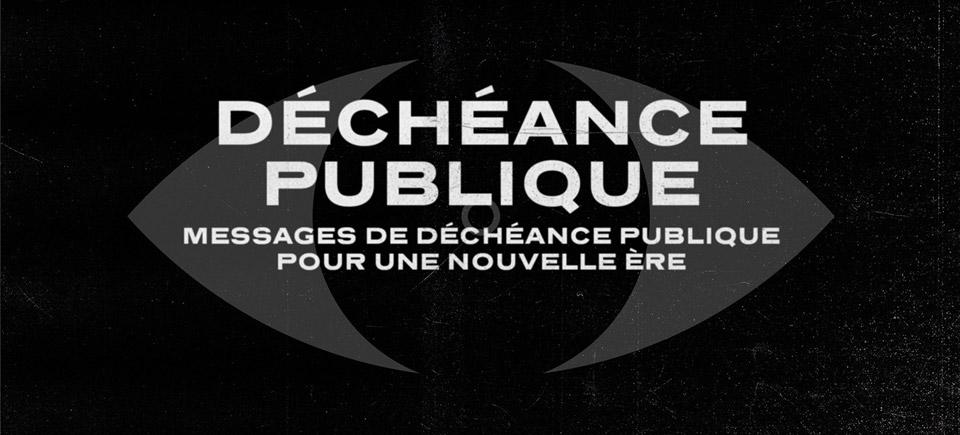 Déchéance publique | 14 courts métrages d'animation pour changer le monde