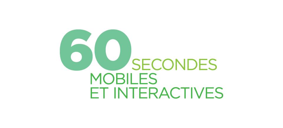 60 secondes mobiles et interactives : appel de projets!