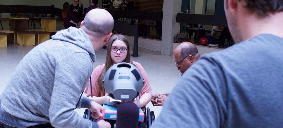 Découvrir le basketball en fauteuil roulant grâce à la réalité virtuelle 360