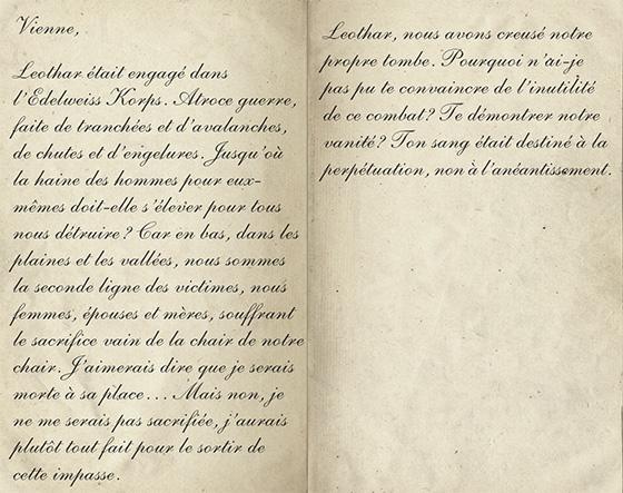 Lettre Elisabeth - Journal de Rose