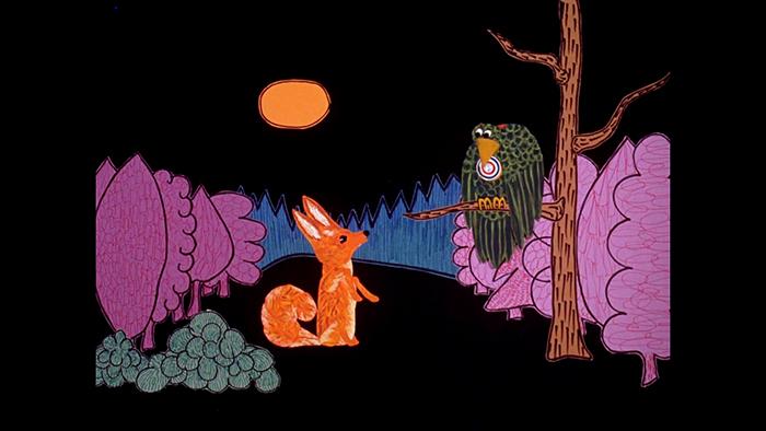 Le corbeau et le renard, un classique de l'ONF