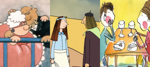 5 films d'animation sur l'amour ?