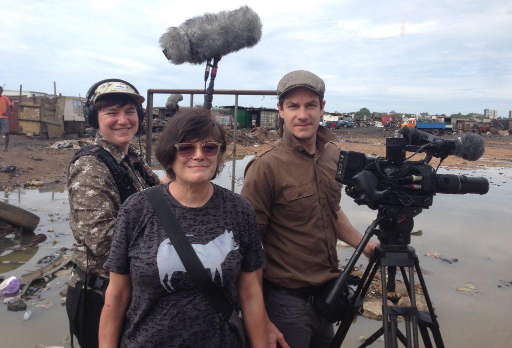 L'équipe de tournage de 24 Davids