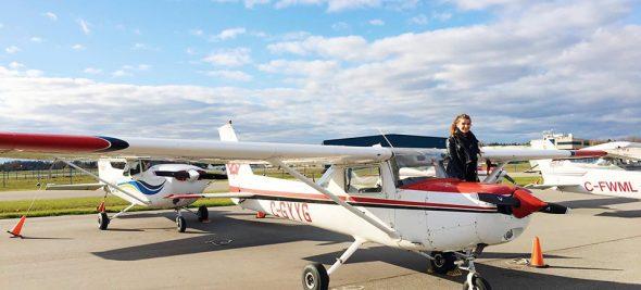 L'envol - Femme pilote