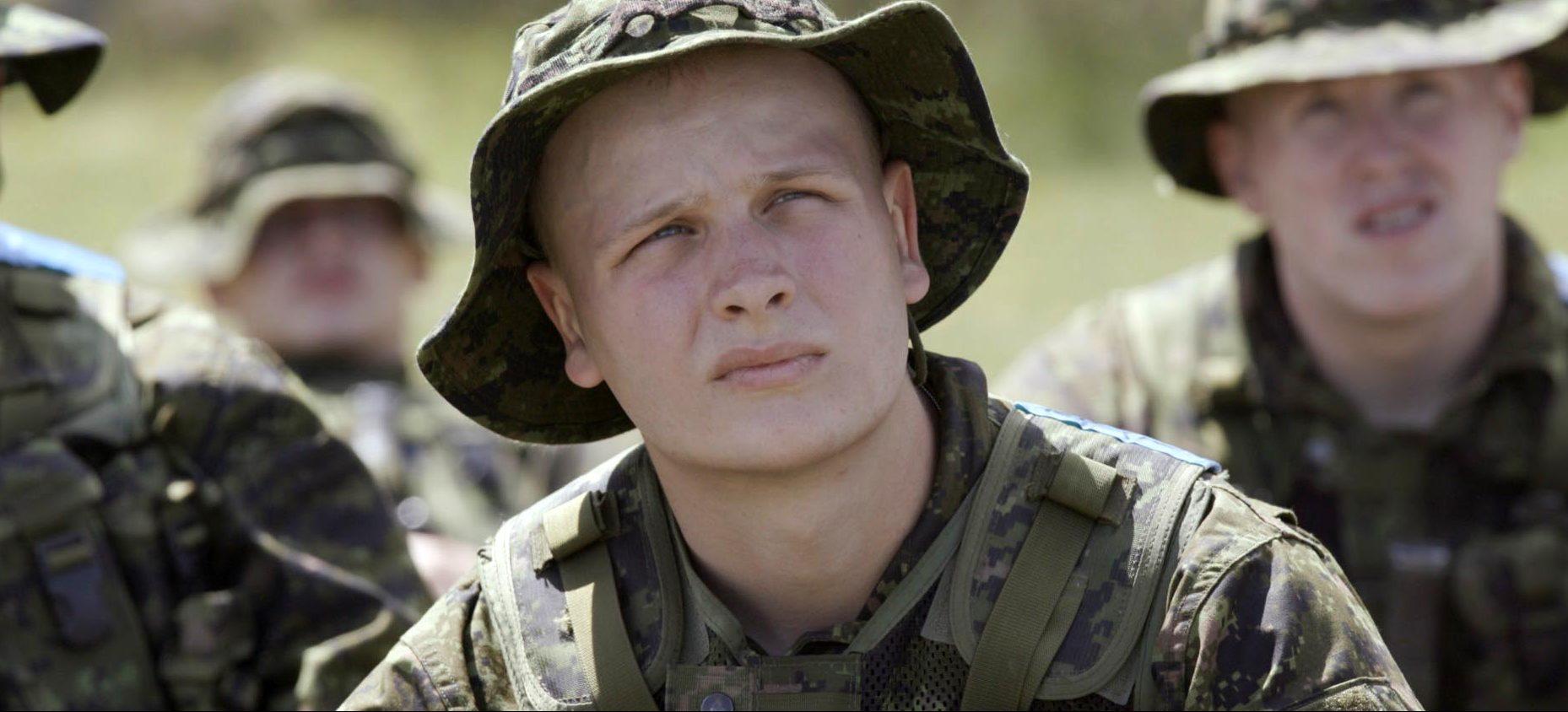 12 semaines aux côtés des recrues de l'armée canadienne