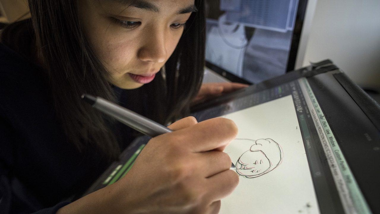 La cinéaste Keyu Chen raconte sa vie au Québec en 7 illustrations