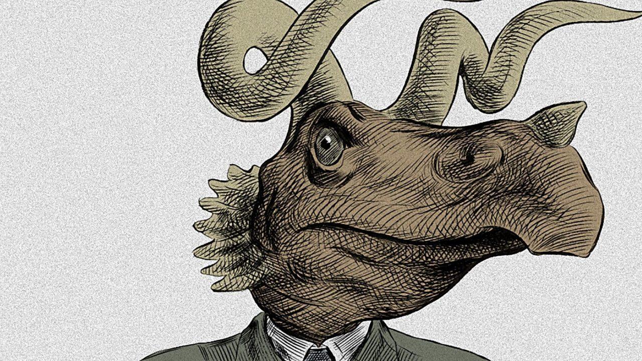 Une remarquable satire de l'évolution des espèces