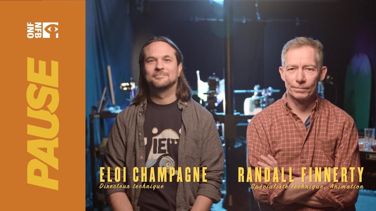 Pause ONF : Dans les studios d'animation avec Eloi et Randall