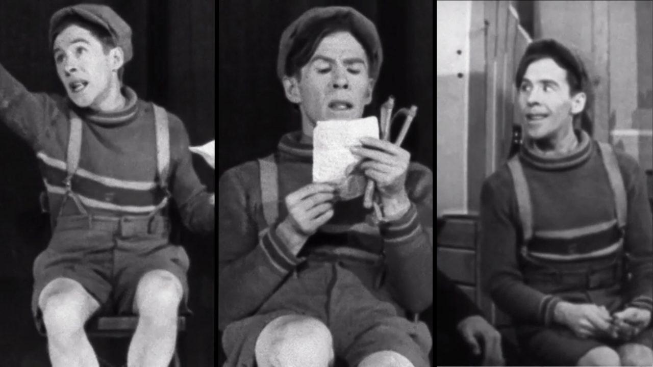 Perspective du conservateur : Fridolinons, un film pionnier sur le théâtre québécois