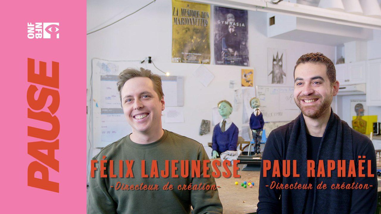 Pause ONF avec Felix & Paul Studios